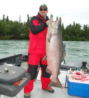 The Kenai Peninsula in Alaska offers some of the best sport fishing opportunities in the world, especially for trophy sized King Salmon.