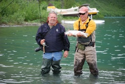 Fly-in fishing trips are available for numerous remote fisheries throughout the Kenai Peninsula.